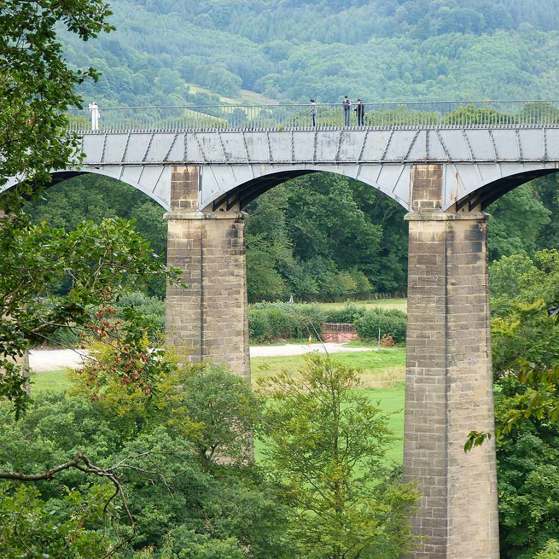 ポントカサステ水路橋と運河の画像 p1_13