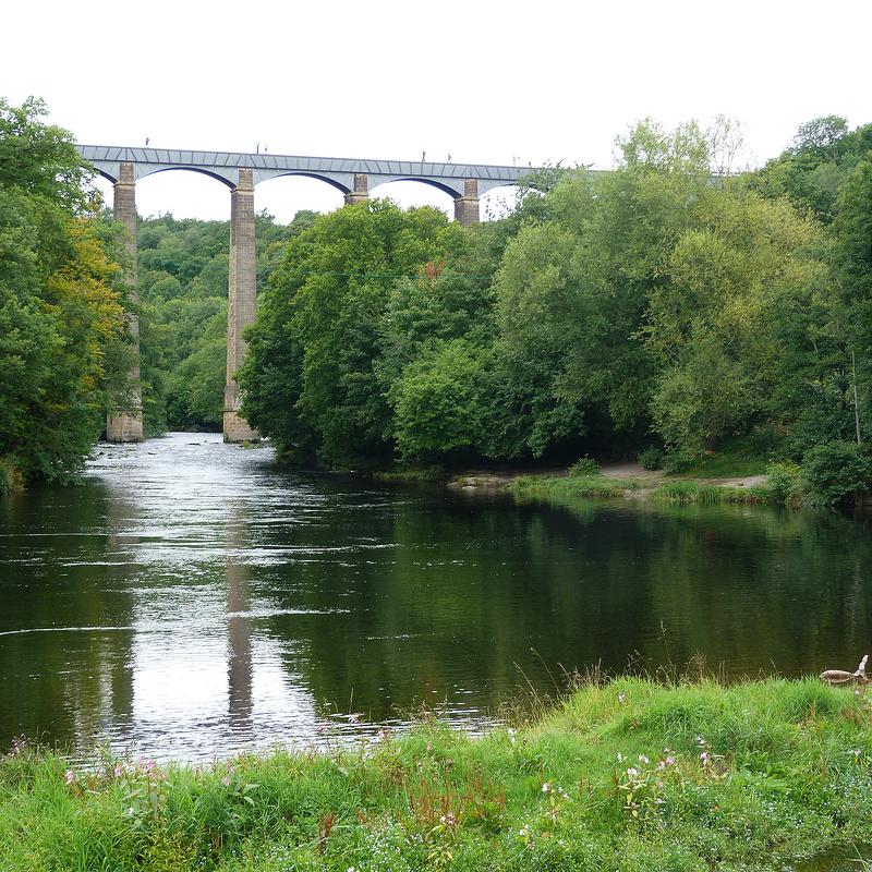 ポントカサステ水路橋と運河の画像 p1_21