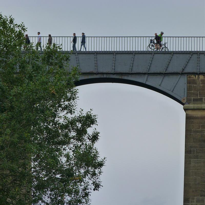 ポントカサステ水路橋と運河の画像 p1_23