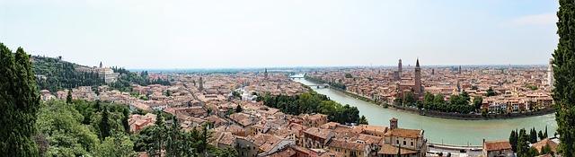 ヴェローナの市街の画像1