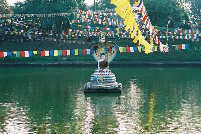 ブッダガヤの大菩提寺の画像3