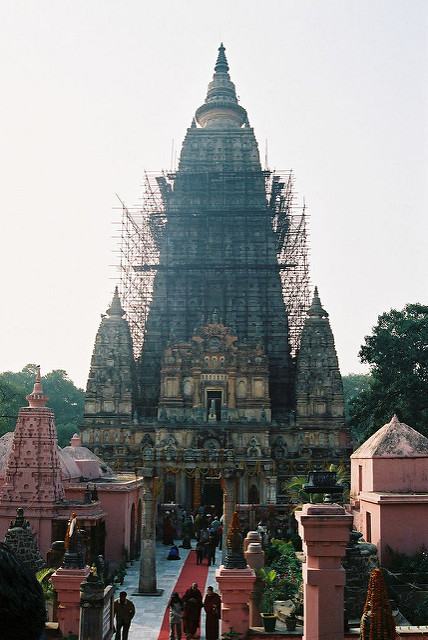 ブッダガヤの大菩提寺の画像6