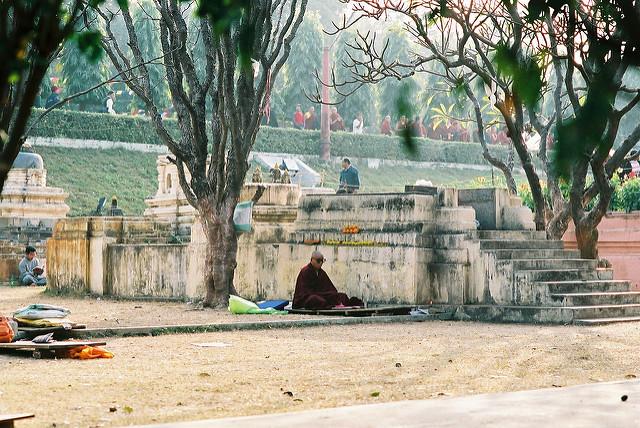 ブッダガヤの大菩提寺の画像12