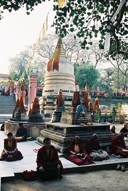 ブッダガヤの大菩提寺の画像15