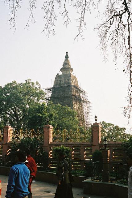 ブッダガヤの大菩提寺の画像1
