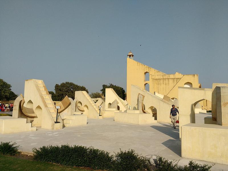 ジャイプールにあるジャンタール・マンタル-マハラジャの天文台の画像8