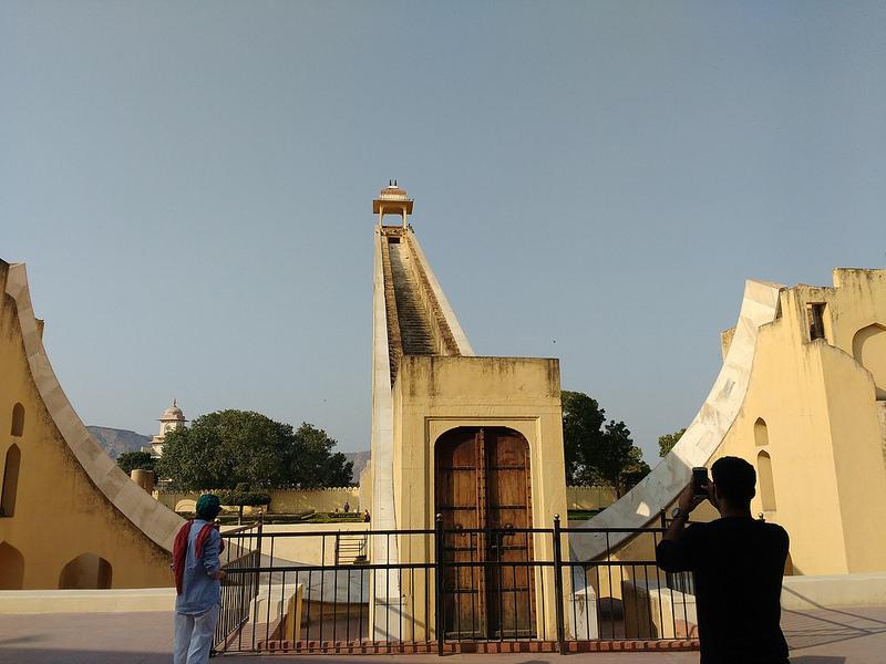 ジャイプールにあるジャンタール・マンタル-マハラジャの天文台の画像9
