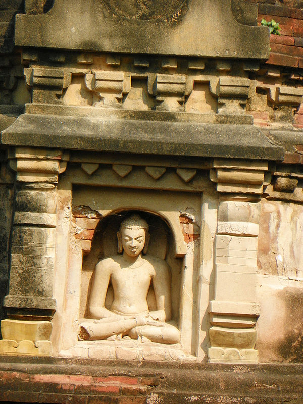ビハール州ナーランダ・マハーヴィハーラの遺跡の画像7