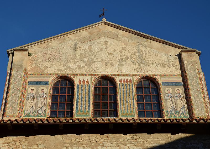 ポレッチ歴史地区のエウフラシウス聖堂建築群の画像1