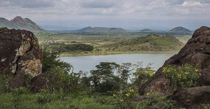 大地溝帯にある ケニアの湖沼群の画像1
