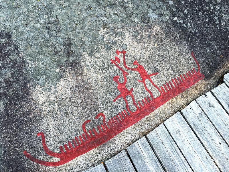 タヌムの線刻画群の画像24