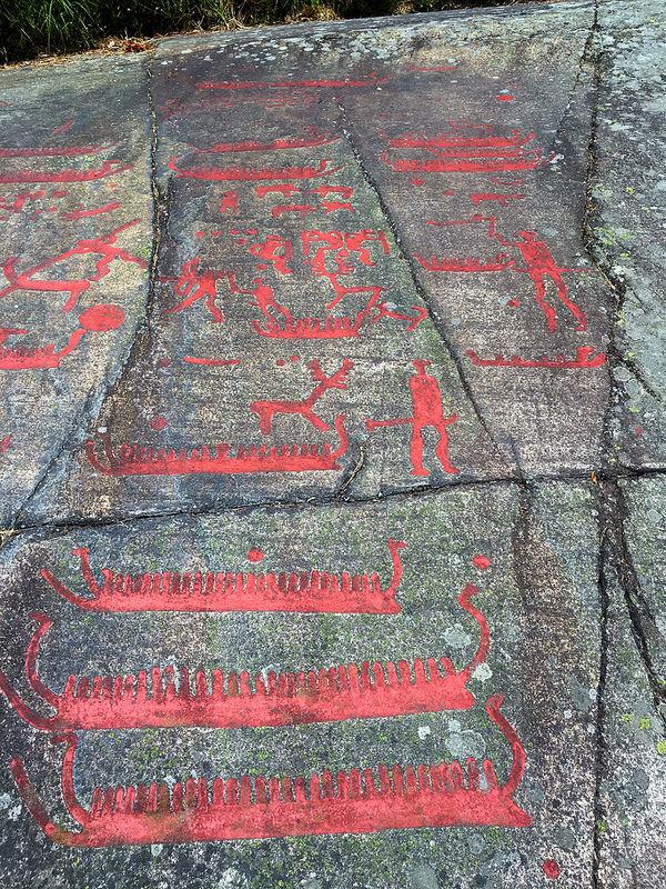 タヌムの線刻画群の画像27