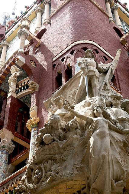 バルセロナのカタルーニャ音楽堂とサン・パウ病院の画像4