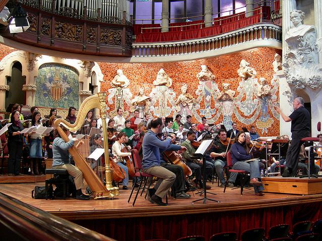 バルセロナのカタルーニャ音楽堂とサン・パウ病院の画像11
