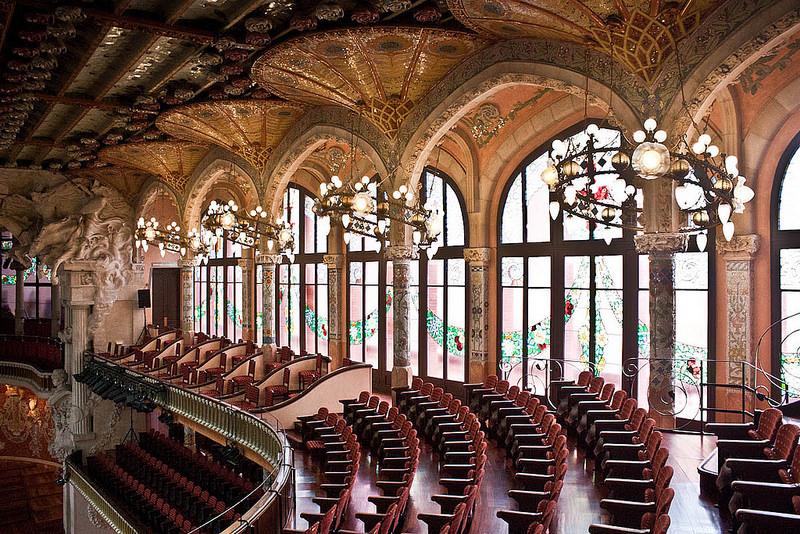 バルセロナのカタルーニャ音楽堂とサン・パウ病院の画像12