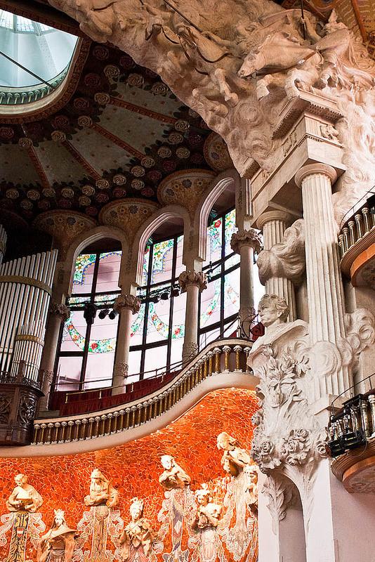 バルセロナのカタルーニャ音楽堂とサン・パウ病院の画像17