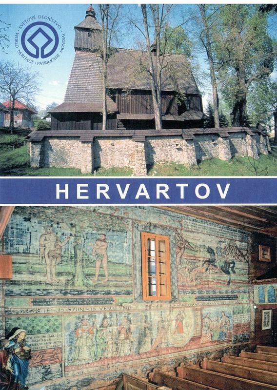 カルパチア山地のスロバキア地域の木造教会群の画像2