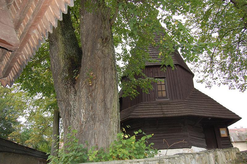 カルパチア山地のスロバキア地域の木造教会群の画像3