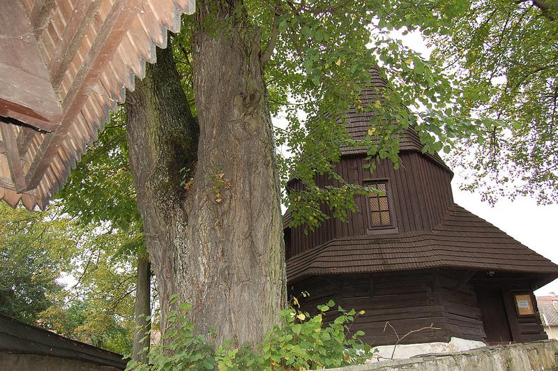 カルパチア山地のスロバキア地域の木造教会群の画像4