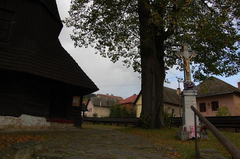 カルパチア山地のスロバキア地域の木造教会群の画像5