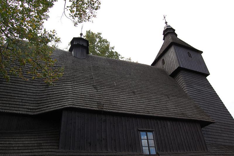 カルパチア山地のスロバキア地域の木造教会群の画像7