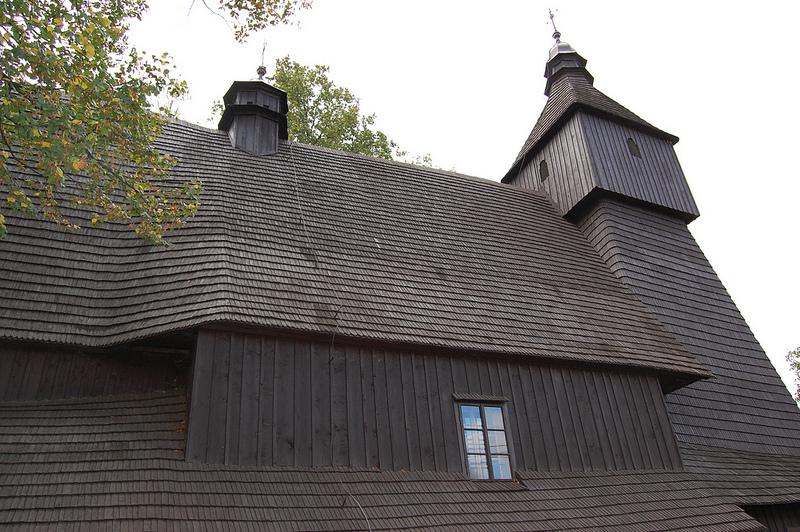 カルパチア山地のスロバキア地域の木造教会群の画像8