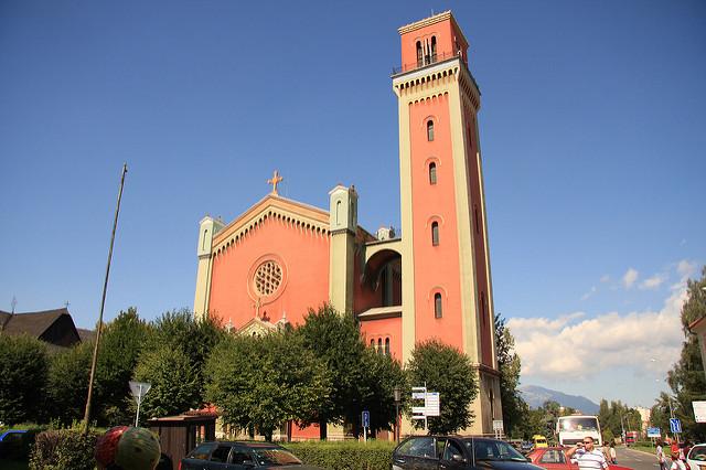 カルパチア山地のスロバキア地域の木造教会群の画像16