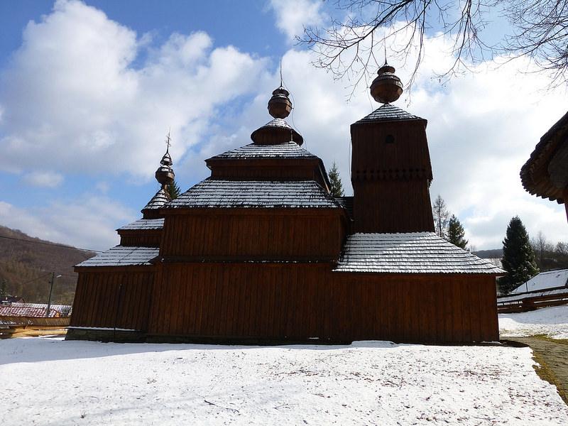 カルパチア山地のスロバキア地域の木造教会群の画像23