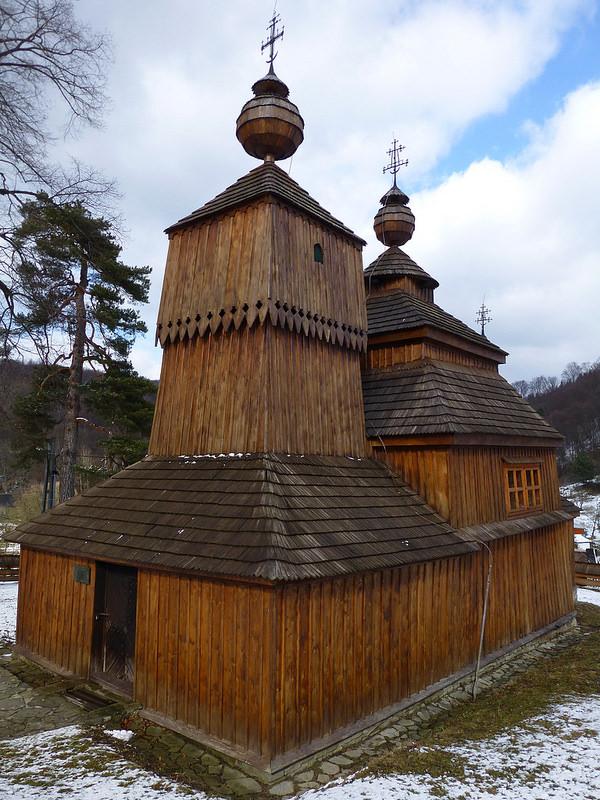 カルパチア山地のスロバキア地域の木造教会群の画像24