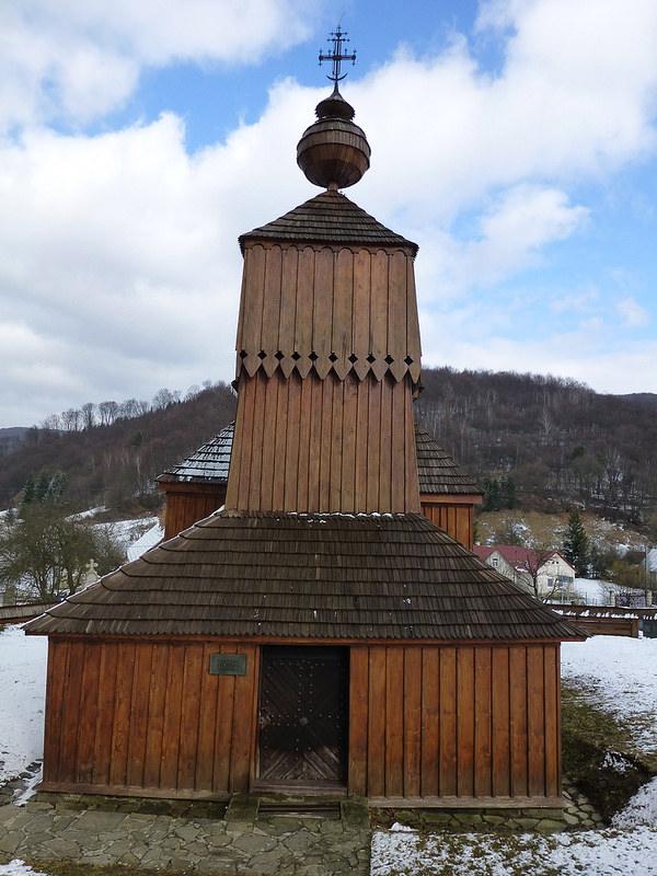 カルパチア山地のスロバキア地域の木造教会群の画像25