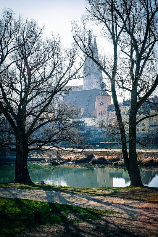 レーゲンスブルクの旧市街とシュタットアムホーフの画像4