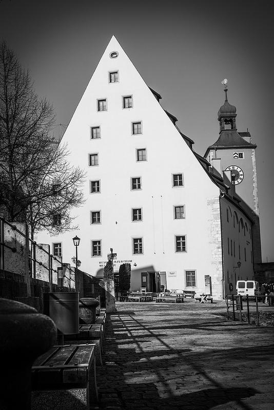 レーゲンスブルクの旧市街とシュタットアムホーフの画像5