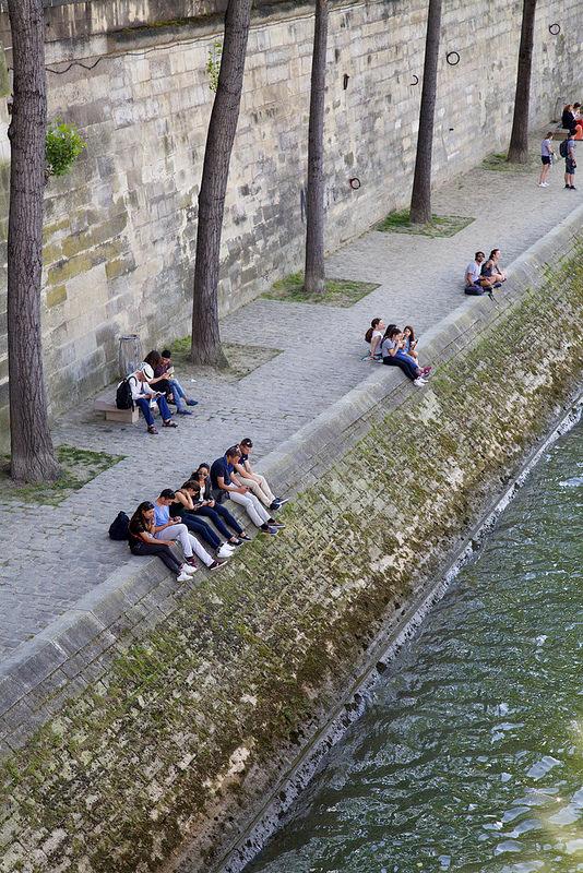 パリのセーヌ河岸の画像19