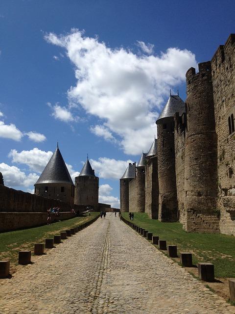 カルカッソンヌの歴史的城塞都市の画像2