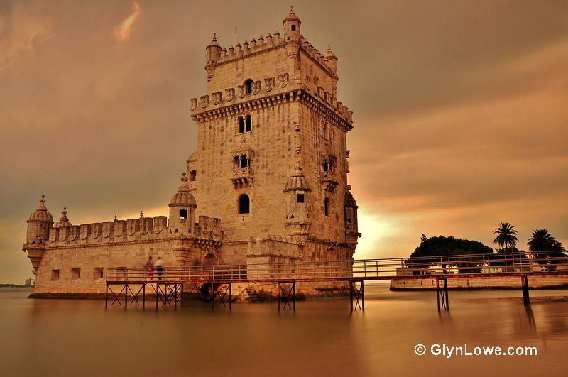 リスボンのジェロニモス修道院とベレンの塔の画像2