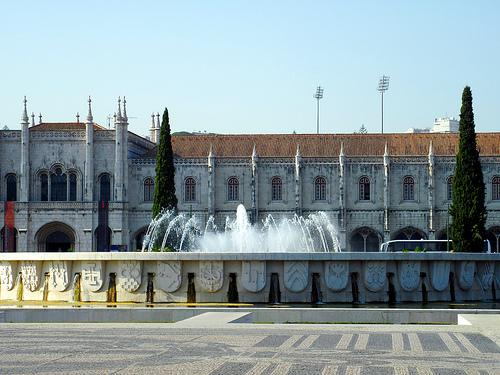 リスボンのジェロニモス修道院とベレンの塔の画像6