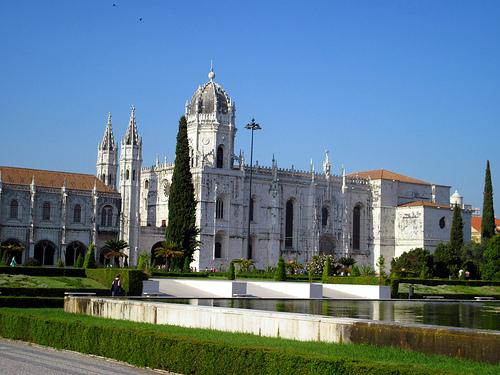 リスボンのジェロニモス修道院とベレンの塔の画像7