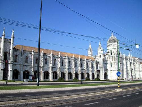 リスボンのジェロニモス修道院とベレンの塔の画像8