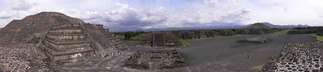 テオティワカンの古代都市の画像3