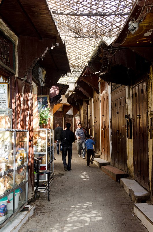 フェズの旧市街の画像11