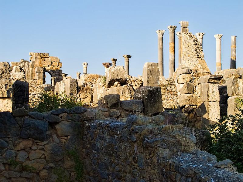 ヴォルビリスの古代遺跡の画像7