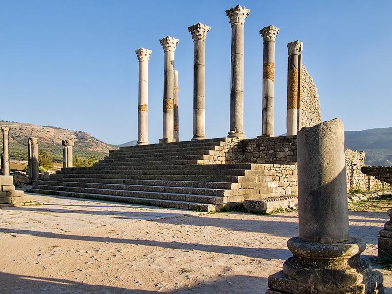 ヴォルビリスの古代遺跡の画像8