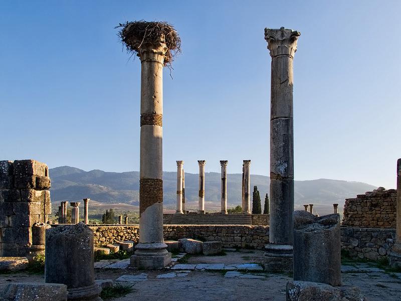 ヴォルビリスの古代遺跡の画像9