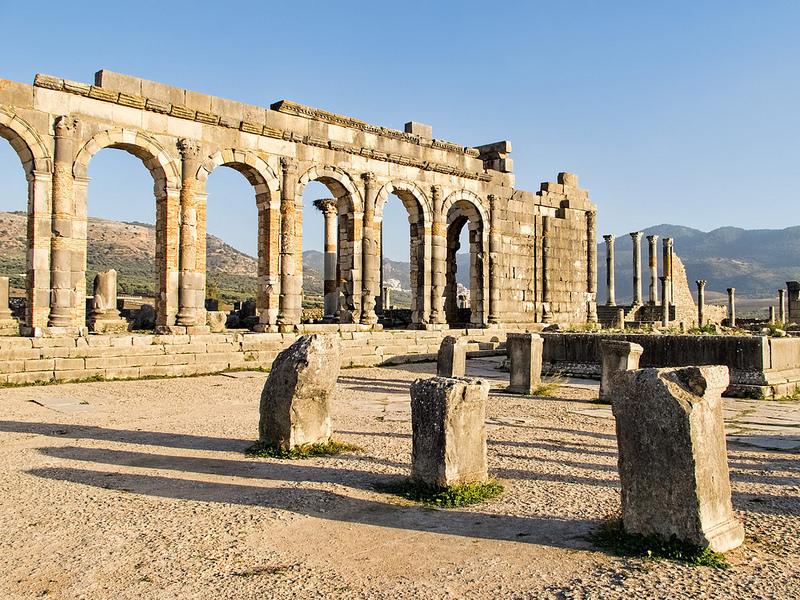 ヴォルビリスの古代遺跡の画像2