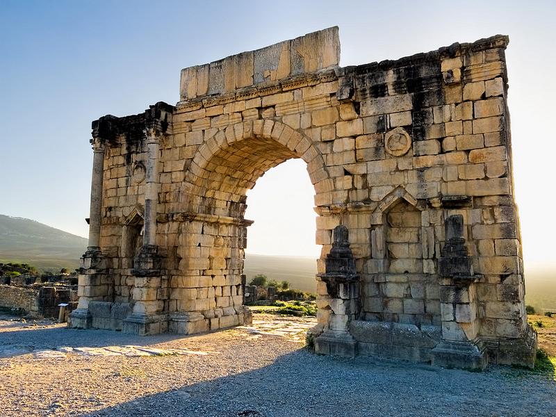 ヴォルビリスの古代遺跡の画像11