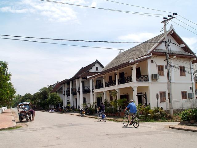 ルアン・パバンの町の画像6