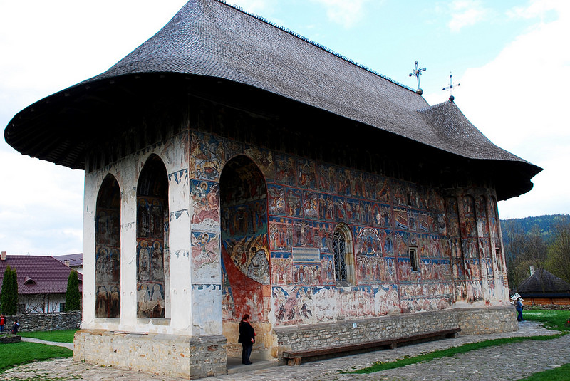 モルダヴィア北部の壁画教会群