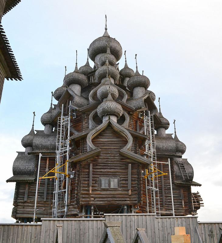 キジ島の木造教会の画像1
