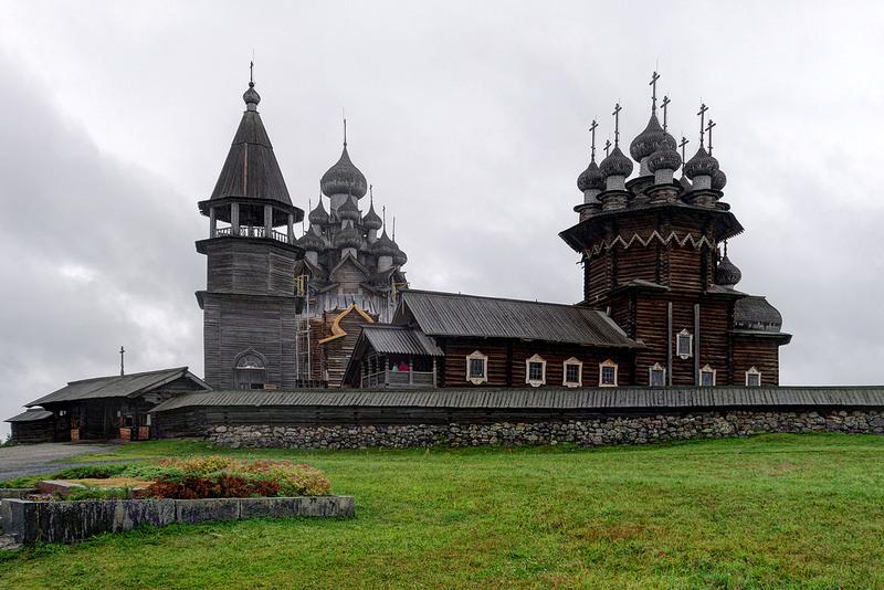 キジ島の木造教会の画像6