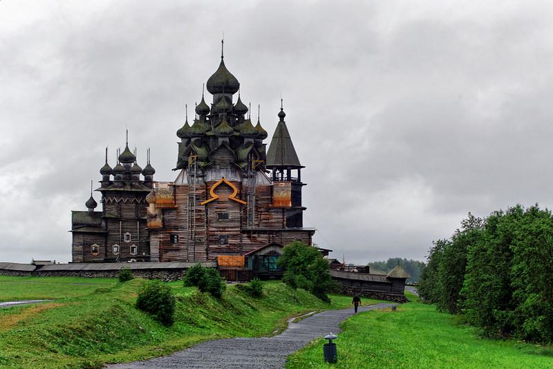 キジ島の木造教会の画像9